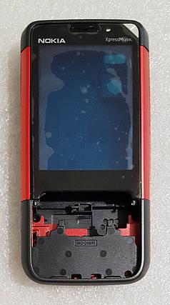 Корпус для Nokia 5610 black-red, фото 2
