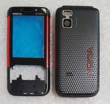 Корпус для Nokia 5610 black-red, фото 3