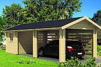 Дом деревянный из профилированного бруса 3.4х8. Кредитование строительства деревянных домов