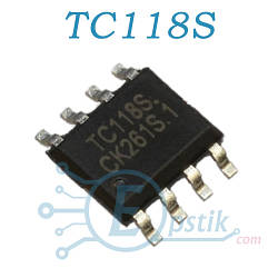 TC118S, драйвер шагового и биполярного двигателя, 2.5А, SOP8