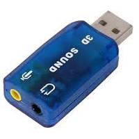 Звуковая плата Dynamode 3D sound USB-SOUNDCARD2, 5.1, USB