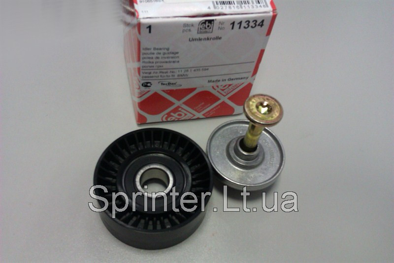 Ролик натяжителя, Sprinter CDI, (гладкий) 70x26mm