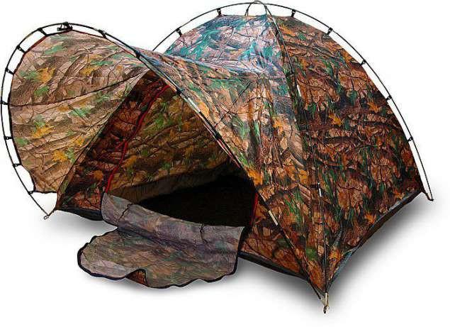 Палатка туристическая 4 местная с козырьком комуфляжная рыбацкая намет 200х200х150см