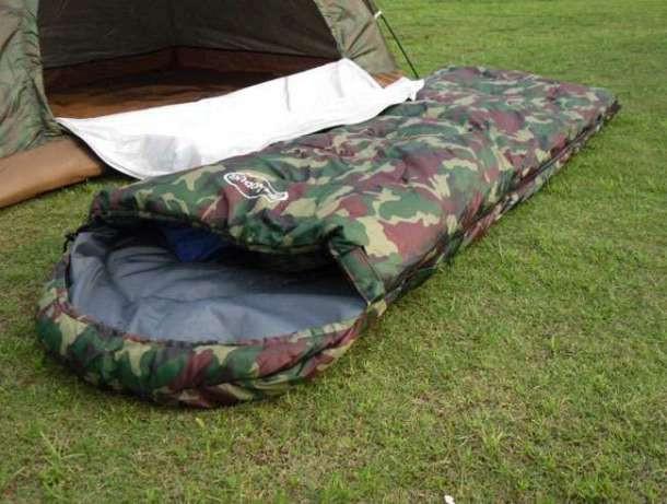 Спальник спальный мешок зимний комуфляжный  до -30°