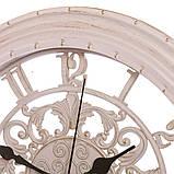 Настенные часы (Ø 36 см) ажурные (133A/cream), фото 2