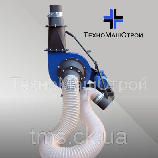 Пневмотранспортёр для тырсы и измельчённого сырья ПТ-420