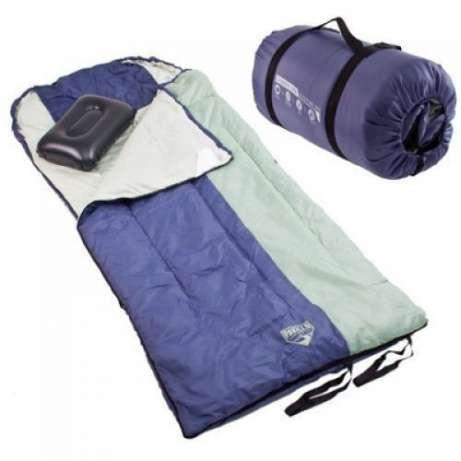 Спальный, мешок,одеяло,с,надувной,подушкой