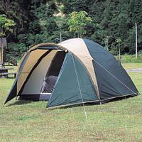 Палатка,4,четырех,местная,двухслойная,с тамбуром,монтана,туристическая