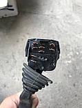 Перемикач поворотів та омивання скла ( гітара ) Opel Astra , Corsa B , Vectra ( 2 омивання ) GM 90 124 931, фото 4