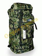 Рюкзак, туристический, рыбацкий, военный, на 60 литров, комуфляжный, универсальный, вместительный