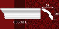 Плинтус потолочный 05509Е 39*39мм 2м