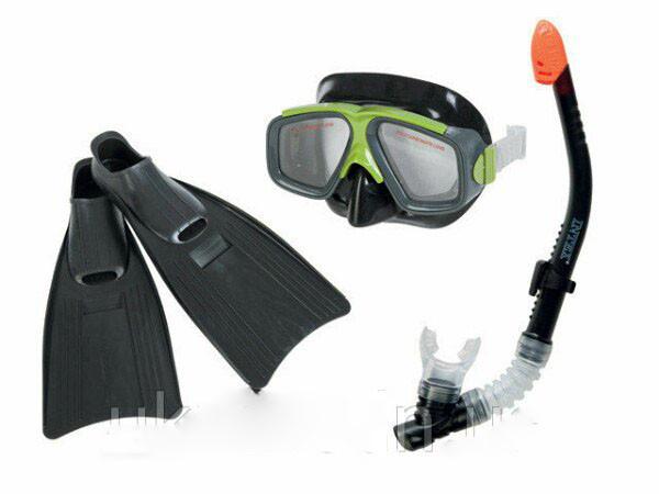 Ласты, intex, в комплекте, ласты с маской и трубкой, набор, для, подводного, плаванья, качественный