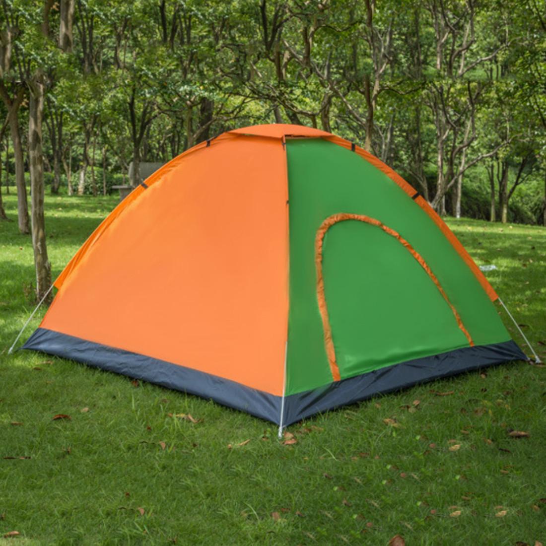 Палатка двух-трех местная 200х150х140см туристическая рыбацкая кемпинговая