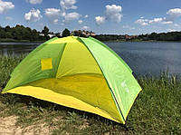 Палатка, пляжная, туристическая, намет, двухместная,универсальная,качественная