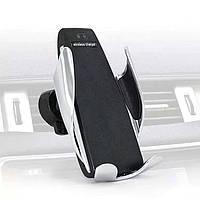 Авто держатель с функцией беспроводной зарядки Penguin Smart Sensor S5