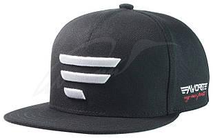 Кепка Favorite чёрная 335 белое лого размер 58