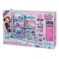 Дом для кукол лол в кредит Модный особняк L.O.L Surprise House Кукольный домик L.O.L. Surprise