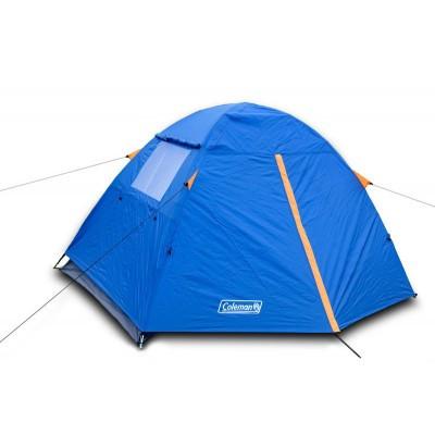 Палатка, двух, 2, местная, двухслойная, coleman, Польша, оригинал, намет, с тамбуром, туристическая, рыбацкая
