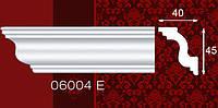 Плинтус потолочный 06004Е 40*45мм 2м