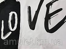 "Футболки для пари ""LOVE"", фото 2"