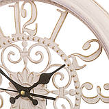Настенные часы (Ø 36 см) ажурные (069A/cream), фото 2