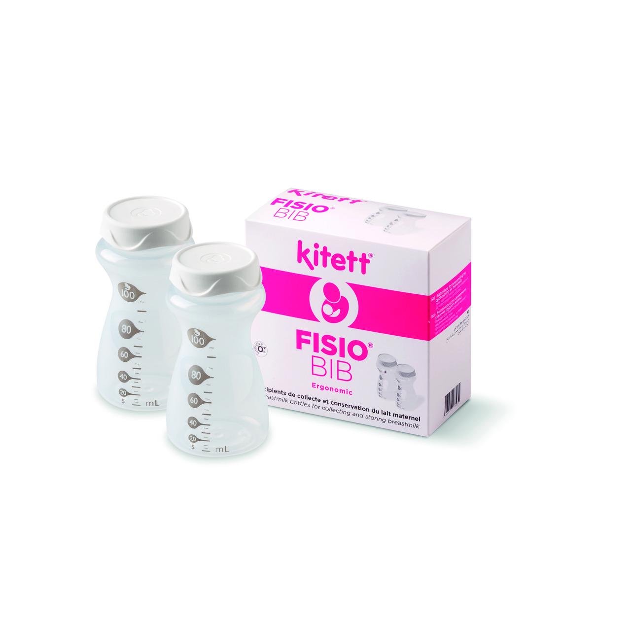 Пляшка для збору та зберігання грудного молока FISIO BIB 100мл