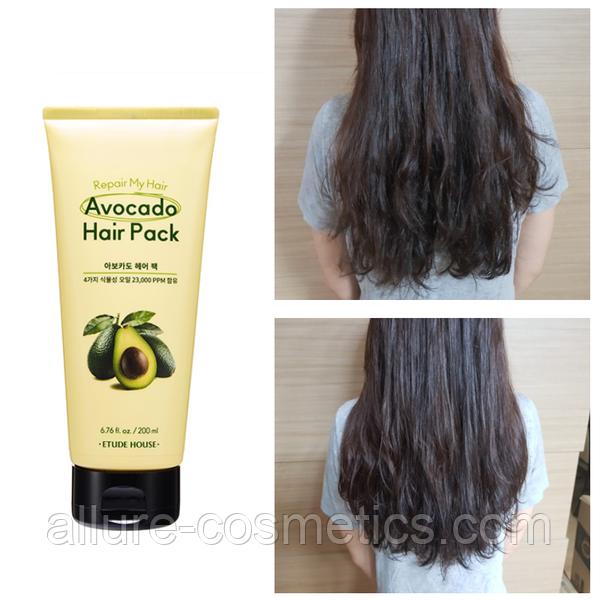 Маска для волос с авокадо ETUDE HOUSE Avocado Hair Pack