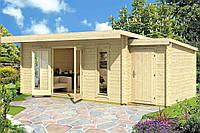 Дом деревянный из профилированного бруса 5.5х3.9. Скидка на домокомплекты на 2020 год
