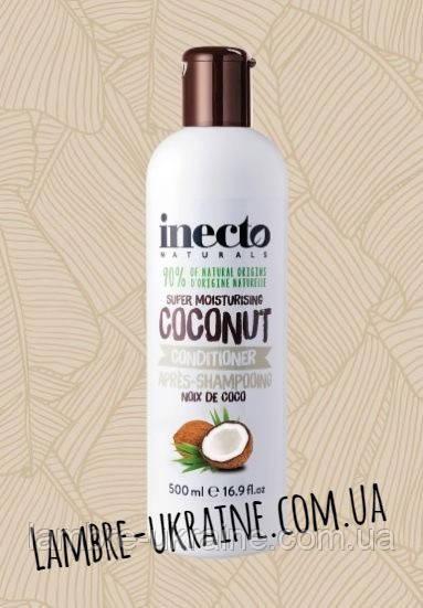 Питательный кондиционер для волос с маслом кокоса -  Inecto Naturals Coconut Conditioner 500 ml