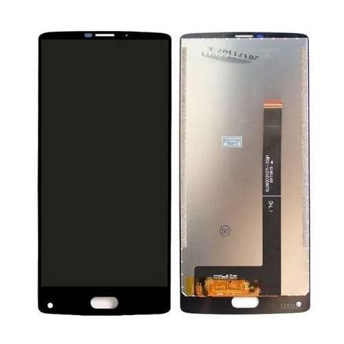 Дисплей для HomTom S9 Plus с тачскрином черный Оригинал