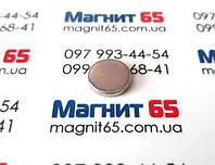 Неодимовый магнит диск D12*H2  сила сцепления 1,4 кг
