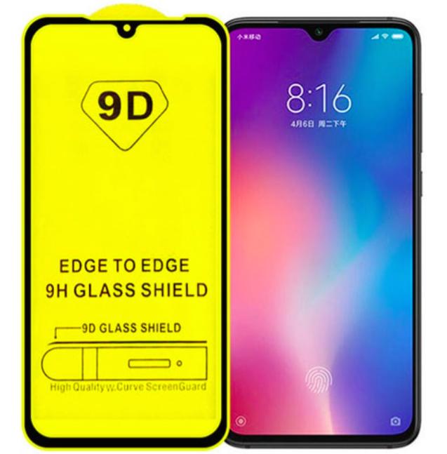 Защитное  5D/6D/9D стекло  для  Mi 9 (FULL GLUE)
