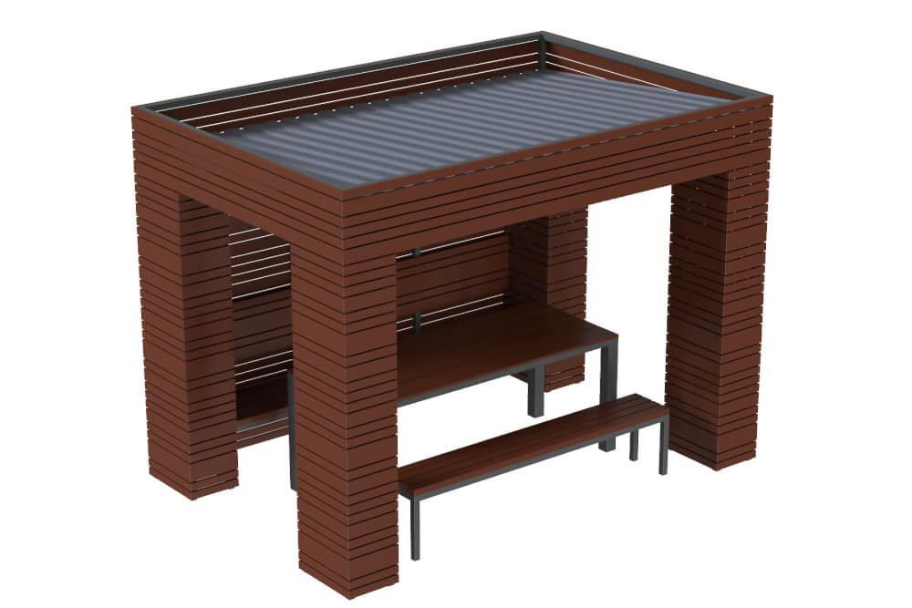 Павильон для отдыха Line Kidigo (VMNA003)