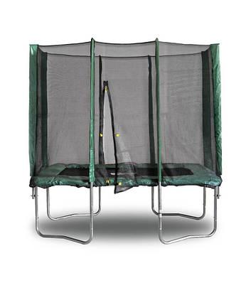 Прямоугольный батут KIDIGO 215 х 150 см. с защитной сеткой (BT215-150), фото 2
