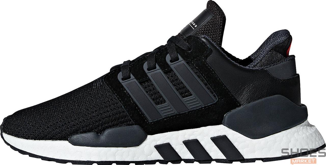 Мужские кроссовки Adidas Originals EQT Support 91/18 B37520 Black, Адидас ЕКТ