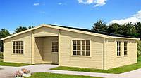 Дом деревянный из профилированного бруса 10.5х6. Скидка на домокомплекты на 2020 год