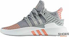 Женские кроссовки Adidas EQT Bask ADV W Grey Two/Grey Two/Ftwr White AC7351, Адидас ЕКТ