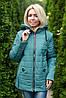 Куртка женская демисезонная трансформер в жилет, фото 8