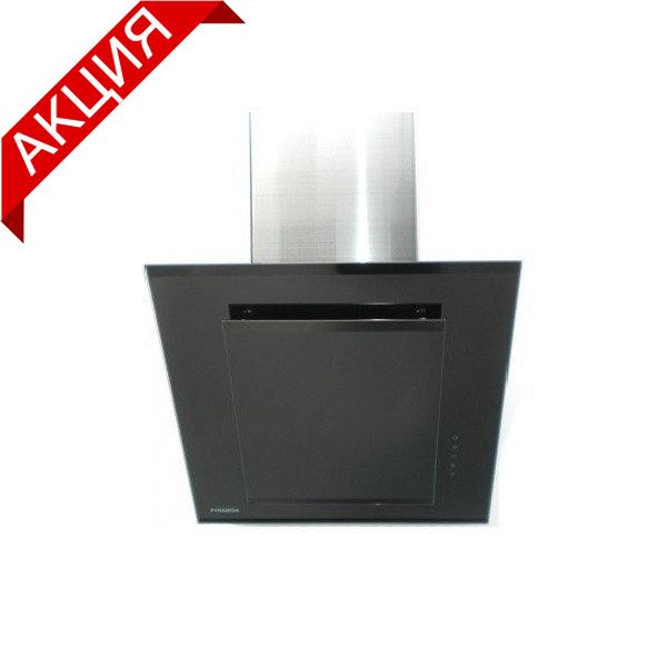 Вытяжка PYRAMIDA BG-600 BLACK (вытяжка наклонная черная из закаленного стекла)