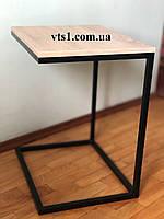 Прикроватный столик ВТ в стиле Лофт  ТМ МЕТАКАМ