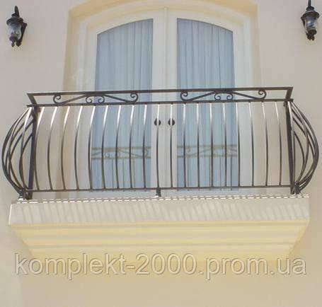 Ограждение металлическое стационарное для террас/балконов
