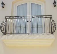 Ограждение металлическое стационарное для террас/балконов, фото 1