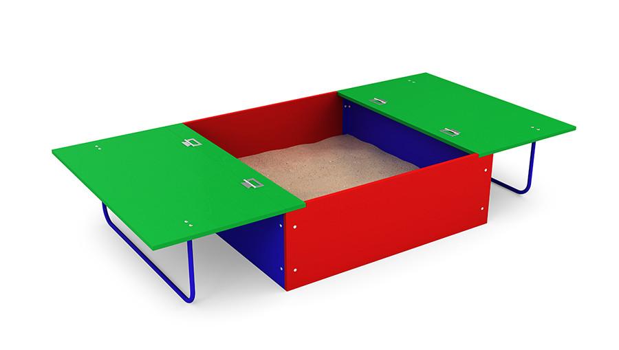 Песочница Раскладушка 1,2х1,2 m Kidigo (12-5-07.1/2-6)