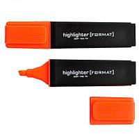 Маркер текстовий FORMAT, 2-5 мм, оранжевый