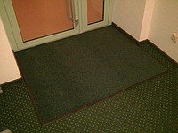 Придверные коврики «Париж» (зеленый)