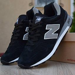 Мужские кроссовки New Balance 1300 замшевые черные. Живое фото (Реплика ААА+)