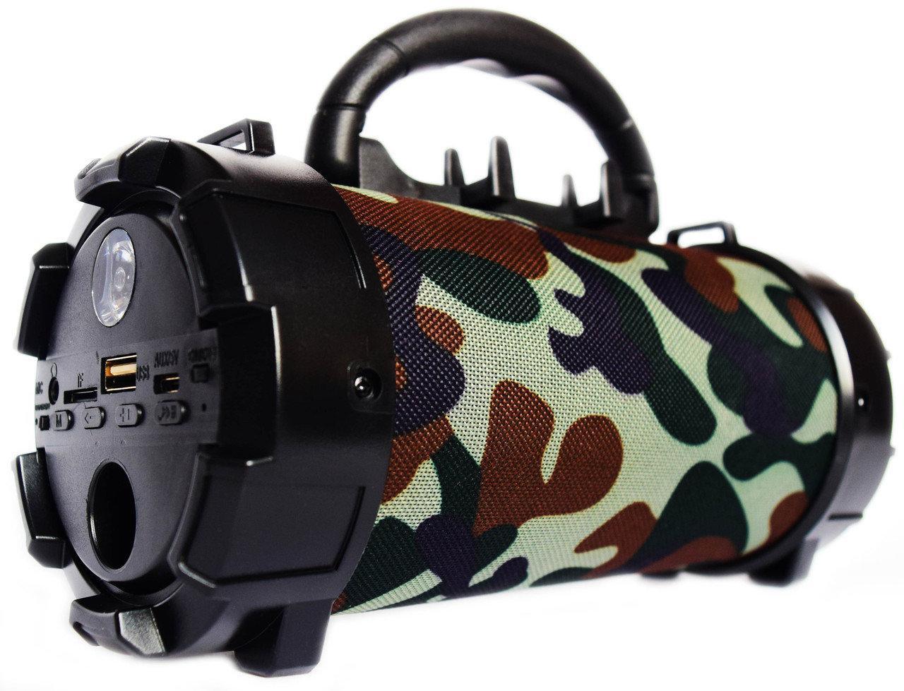 Портативная Bluetooth колонка SPS F18 камуфляж
