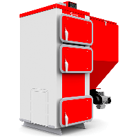 Котел с автоматической подачей топлива Heiztechnik Q EKO 15