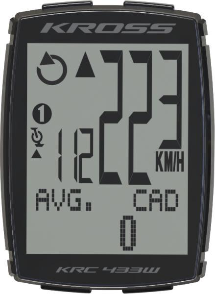 Велокомпьютер беспроводной Kross KRC 433W