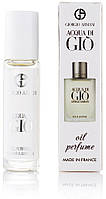 Мужской шариковый масляный парфюм Giorgio Armani Acqua di Gio - 10 мл